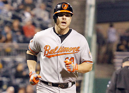 Chris Davis finds his power stroke in a big way. The O's slugger produces his second career three-homer game. (USATSI)