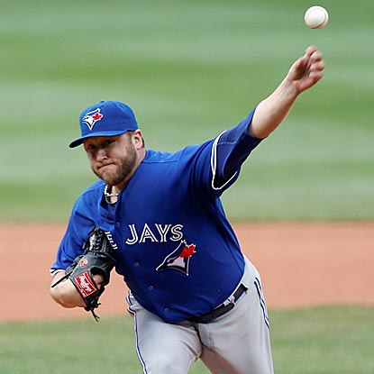 Mark Buehrle (8-1) is off to his best start since he was 10-1 with the 2005 Chicago White Sox.  (USATSI)