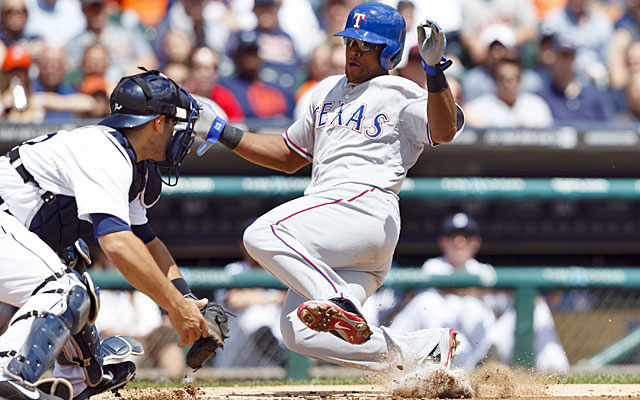 Adrian Beltre and the Rangers got the jump on the Tigers with a 9-2 victory in the series opener. (USATSI)