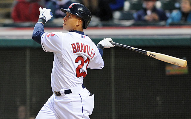 Michael Brantley is paying dividends in Cleveland after signing a new four-year contract. (USATSI)