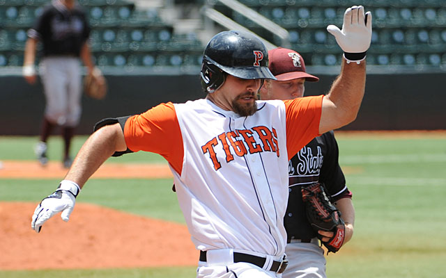 An Ivy League Player and Pitcher of the Year at Princeton, Mike Ford is now a full-time hitter. (USATSI)