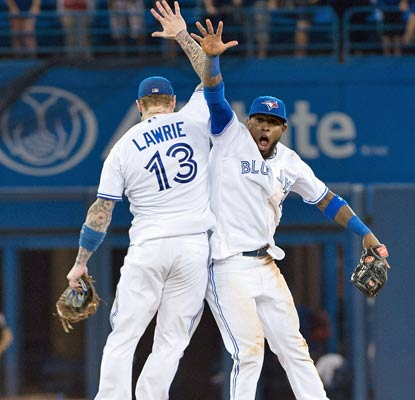 It's good to be a Blue Jay these days as Toronto improves its May record to 19-7.  (USATSI)