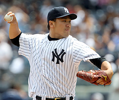Masahiro Tanaka yields just four hits and one unearned run in eight dominant innings to lower his AL-leading ERA to 2.08. (USATSI)