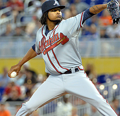 Ervin Santana scatters seven hits over six innings of work to earn his first victory since May 10th.  (USATSI)