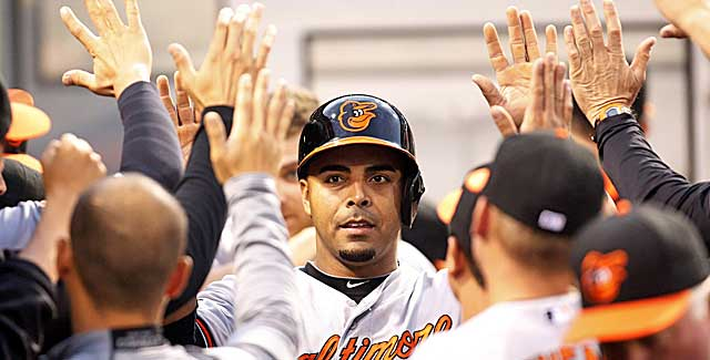 Nelson Cruz is putting up bigger numbers this season than in 2013, when he was nailed for cheating. (USATSI)