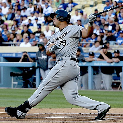 The beat goes on for Jose Abreu, who hits his second home run in as many games after missing 14 games with tendinitis.  (Getty Images)
