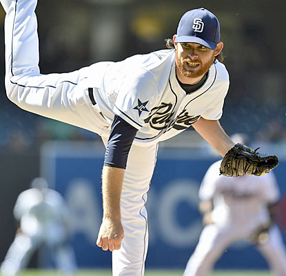 The Padres' Ian Kennedy wins his third straight start after riddling the Pirates through six solid innings of work. (Getty Images)