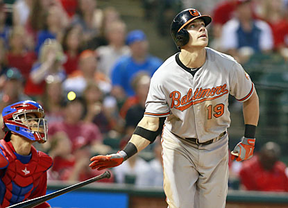 Chris Davis visits his old stomping grounds and makes his ex-team pay with a solo shot in the fifth. (USATSI)