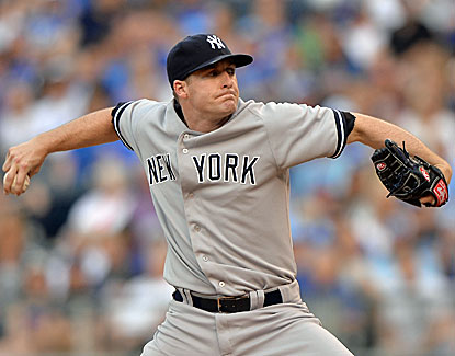 Yankees pitcher Chase Whitley earns his first career win with 7 strong innings against Kansas City. (USATSI)