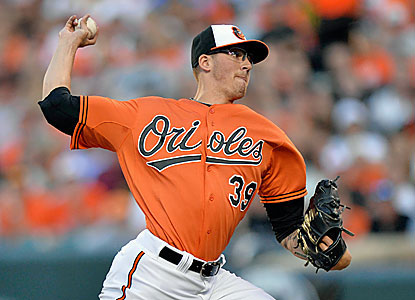 Kevin Gausman notches his first win as a starter and sets career highs in innings (7) and strikeouts (6). (USATSI)