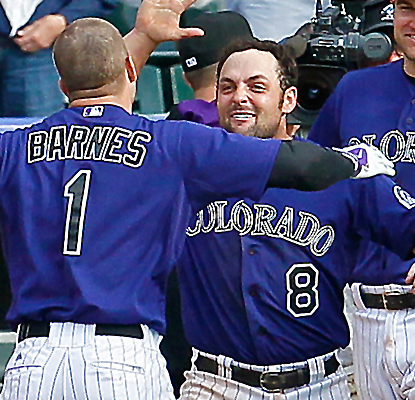 Brandon Barnes enters the game as a defensive replacement, then hits the game-winning triple.  (USATSI)