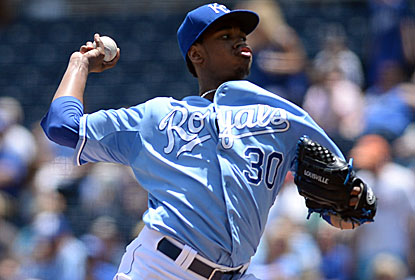Yordano Ventura picks up the win as the surging Royals score all four of their runs on sacrifice flies. (USATSI)