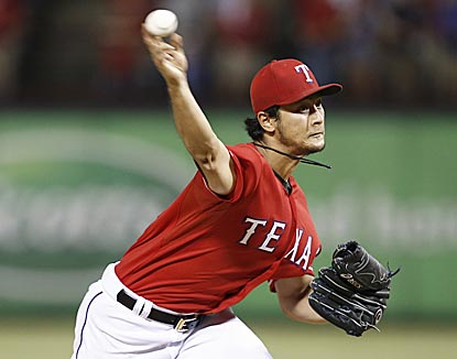 Yu Darvish's first MLB complete game is a six-hit shutout in which he throws 116 pitches and strikes out 10.  (USATSI)