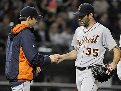 Justin Verlander has given up at least five earned runs in five of his past six starts.  (USATSI)