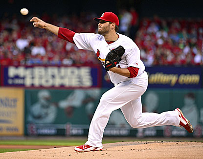 Lance Lynn bounces back from two tough starts with eight shutout innings against the Nationals. (USATSI)