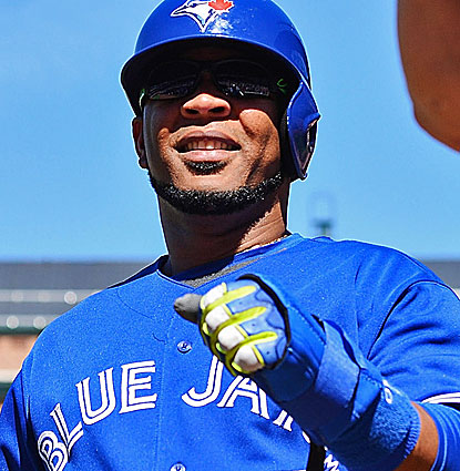 Edwin Encarnacion contributes three hits for the Blue Jays and also scores two runs against Baltimore. (USATSI)