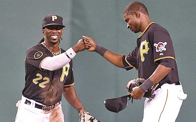 Andrew McCutchen is loving the addition of Gregory Polanco to the Pirates' outfield.    (USATSI)