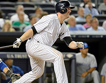 Yankees catcher Brian McCann ties a career-high by driving in five runs against the Blue Jays. (USATSI)
