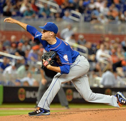 Zack Wheeler strikes out eight and allows only three hits in his first career shootout.  (USATSI)