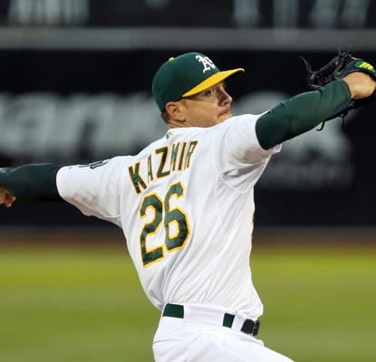Scott Kazmir wins his fourth straight start and improves his record to a stellar 9-2.  (USATSI)