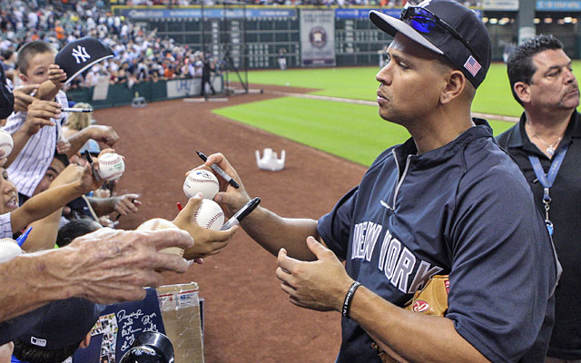 It appears A-Rod will be back in Yankees gear when February 2015 rolls around. (USATSI)