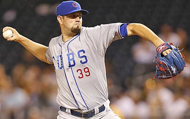 Jason Hammel is a cheaper rental option for the contending Jays. (USATSI)