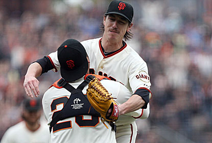Tim Lincecum also no-hit the Padres on July 13, and is the second (Addie Joss) to do it twice vs. the same team. (USATSI)