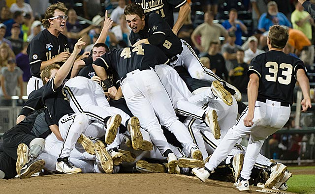 College World Series titles are common for the SEC, but not for first-timer Vanderbilt. (USATSI)