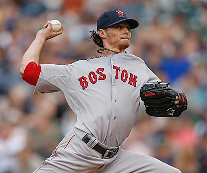 In his first appearance since May 26, Clay Buchholz pitches efficiently and wins despite giving up three HRs.  (Getty Images)