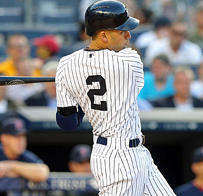 Derek Jeter collects a pair of hits, and the Yankees get a strong outing from Vidal Nuno.  (USATSI)