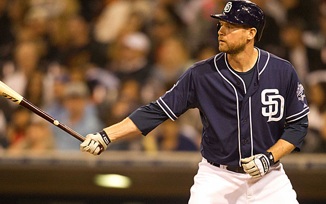 The Blue Jays are showing interest in the Padres' Chase Headley.  (USATSI)