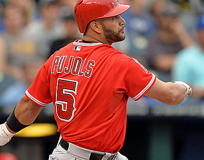 Albert Pujols, with 14 RBI in his past 13 games, singles home runs in the third and sixth innings. (USATSI)