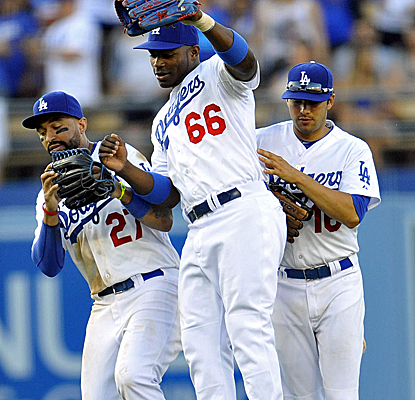 The Dodgers remain one of basbeall's hottest teams, winning for the 11th time in 15 games.  (USATSI)
