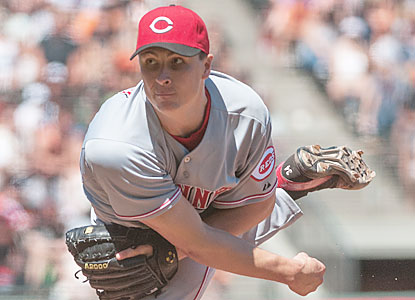 Homer Bailey falls short of his third career no-hitter. However, the Reds' righty does notch a three-hit shutout. (USATSI)