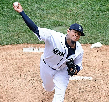 Felix Hernandez one-hits Cleveland over eight innings. Since May 12, he is 6-1 with a 1.30 ERA.  (USATSI)