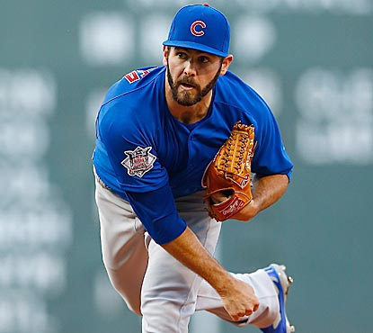 With another stellar outing, Jake Arrieta winds up with a 0.92 ERA for the month of June with 48 K's and six walks.  (Getty Images)