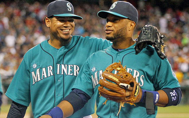 Felix Hernandez is once again on a Cy Young path in Seattle while Robinson Cano keeps producing. (USATSI)