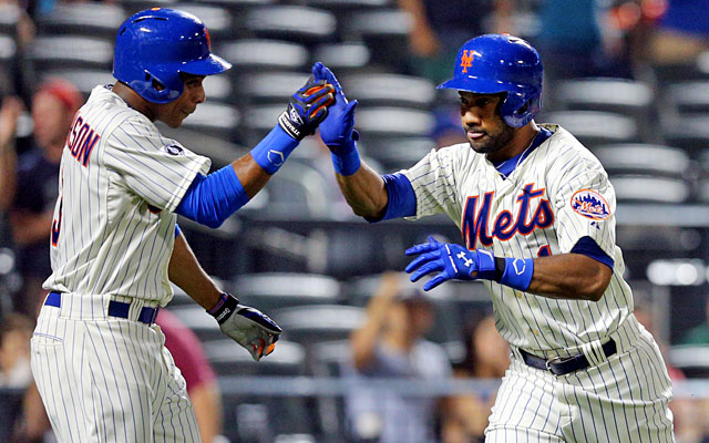 Curtis Granderson and Chris Young haven't given the Mets much in their first season in Queens. (USATSI)
