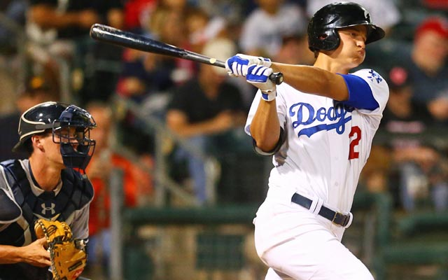 The Dodgers need to hold on to hot-hitting prospect Corey Seager. (USATSI)