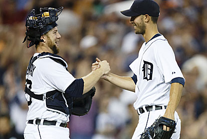 Rick Porcello becomes the first Tigers pitcher since Jack Morris (1986) to throw back-to-back shutouts. (USATSI)