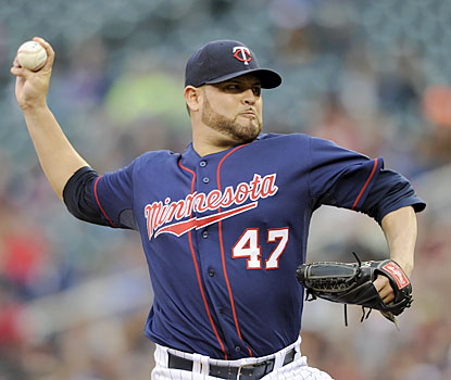 Ricky Nolasco yields one run in six innings en route to his first win in five starts. (Getty Images)