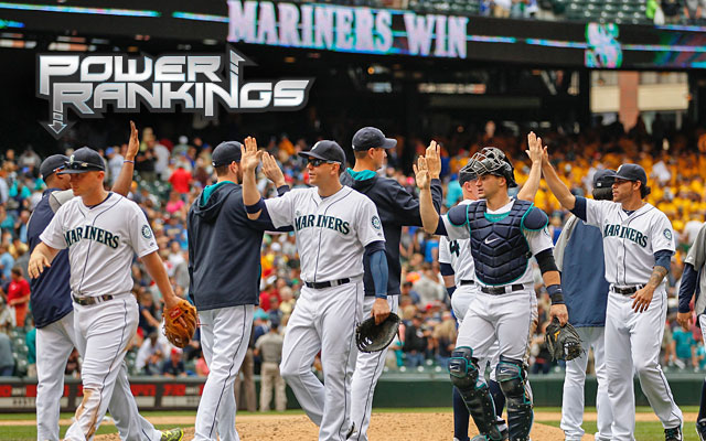 The Mariners are in playoff position thanks to some help from the AL's stingiest bullpen. (Getty Images)