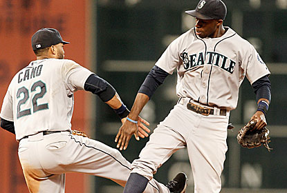 Robinson Cano and Co. come from behind to back Chris Young's stellar outing. (Getty Images)