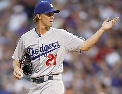 Zack Greinke gets the win despite yielding the tying run in the eighth. LA's bats help him with a run in the ninth. (USATSI)