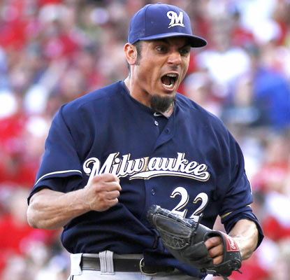 Matt Garza holds the Reds to two hits and no runs. He improves to 4-1 in his last seven games.  (USATSI)