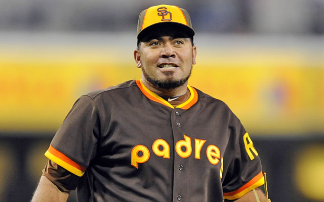 On the rebound in San Diego, Joaquin Benoit could be the top bullpen arm available this summer. (USATSI)