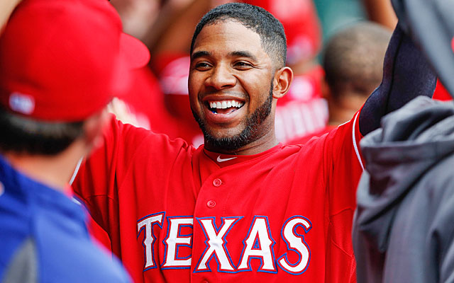 The Rangers can afford to part ways with Elvis Andrus, but who can afford his $15 million salary? (USATSI)
