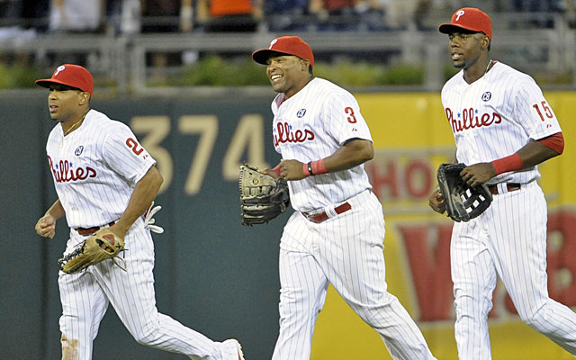 The Phils could unload their outfield, including Ben Revere, Marlon Byrd and John Mayberry Jr. (USATSI)