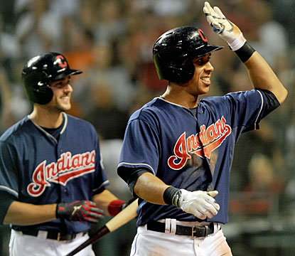 Michael Brantley delivers for the Indians. The first-time All-Star finishes with a home run, two doubles and three RBI. (USATSI)