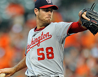 Doug Fister scatters seven hits, walks two and strikes out three over seven innings against the O's. (USATSI)